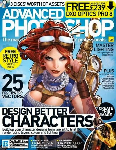 Advanced Photoshop Magazine Issue 129