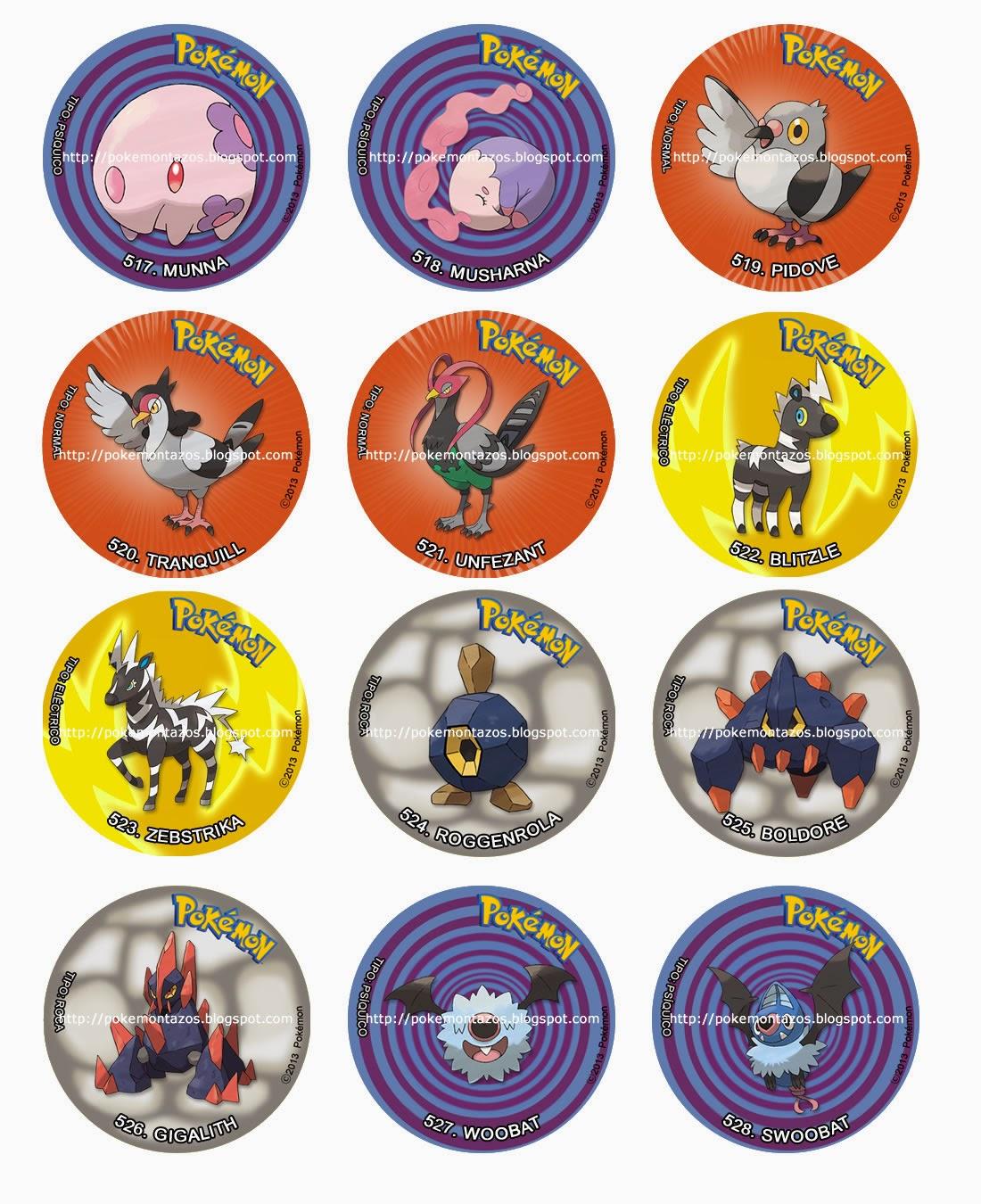 Pokemon TAZOS: mayo 2015