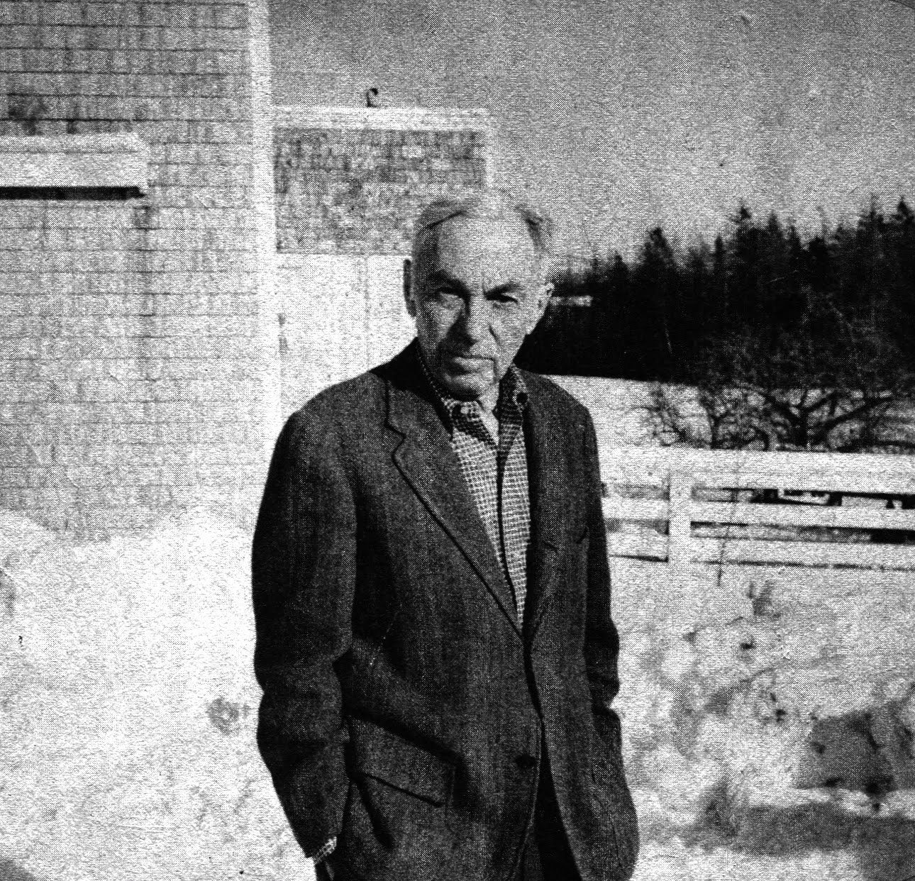 the essays of e b white The essayist is a self-liberated man, sustained by the childish belief that everything he thinks about, everything that happens to him, is of general interestonly a person who is congenitally self-centered has the effrontery and the stamina to write essays.