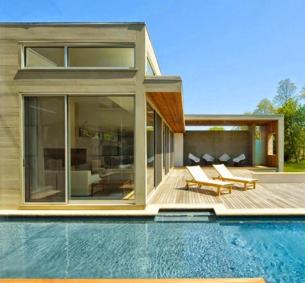 Casas minimalistas y modernas casa minimalista en nueva york for Casa nueva minimalista