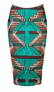 Ohema Ohene Abi Midi Skirt