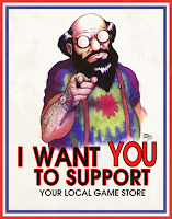 I Want You To Support Your FLGS