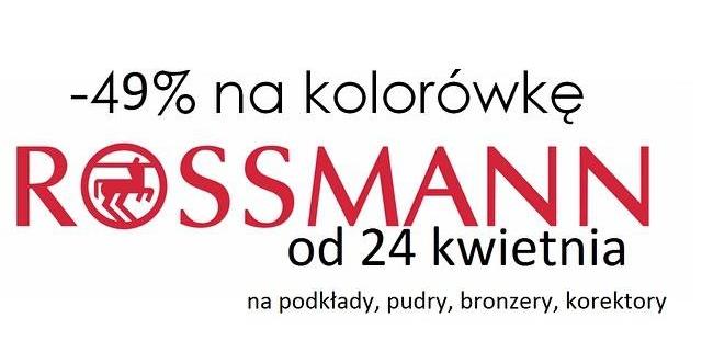 -49% ROSSMAN od 24 kwietnia
