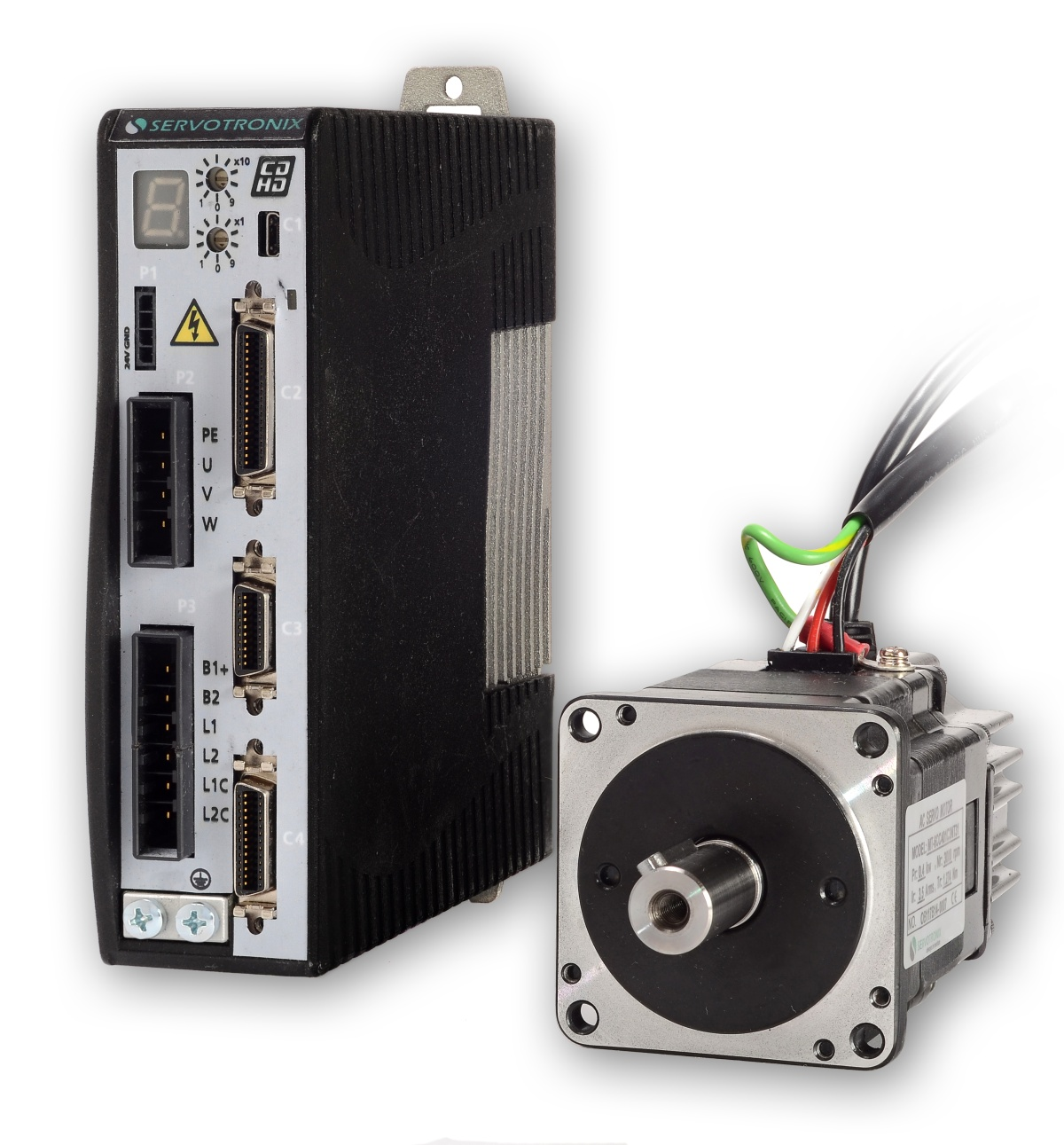Servo Control Systems And Servo Drives Servo Motor