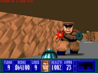 Wolfenstein 3D: El comienzo de todo.