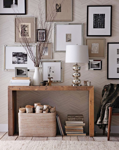 belle maison: Entryway Inspiration