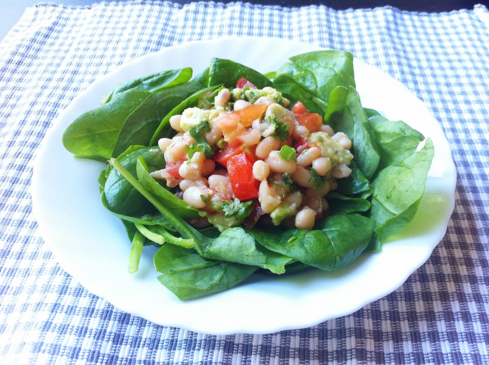 De plantaardige keuken: zomerse witte bonensalade