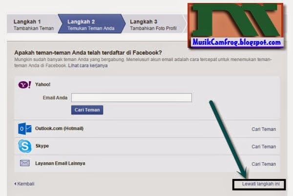 cara membuat dan mendaftar FB