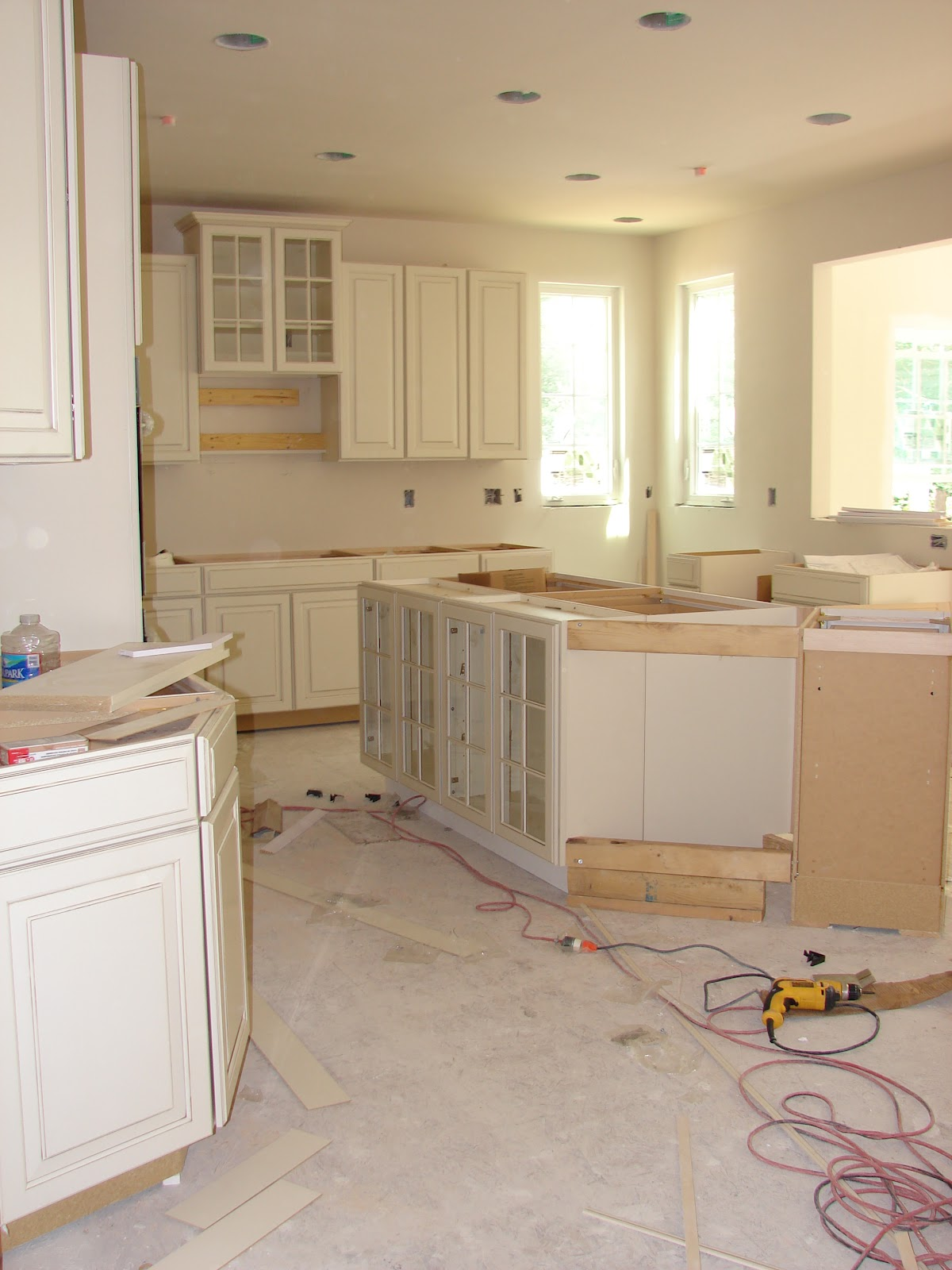 Building a Ryan Home: Avalon: I My Kitchen Cabinets! on