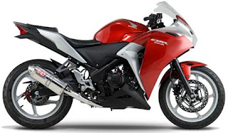 Honda CBR250R with Yoshimura Stainless full exhaust
