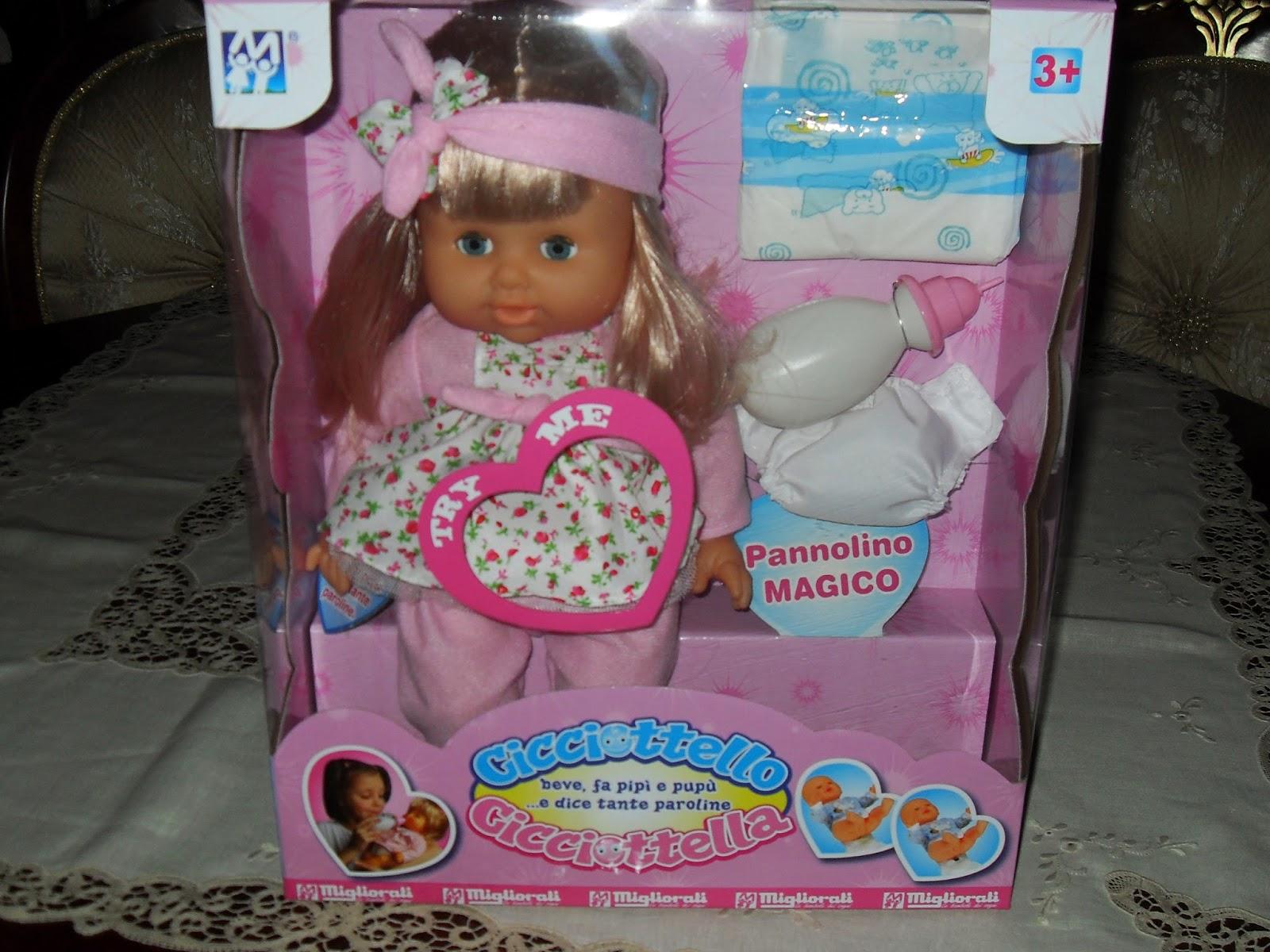 migliorati giocattoli cicciottella la bambola dei sogni di gaia