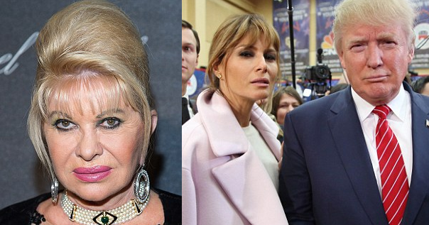 ivana slams melania donald trumps third wife wont good first lady