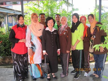 LAWATAN PENGARAH SUKAN KPM DAN TV3
