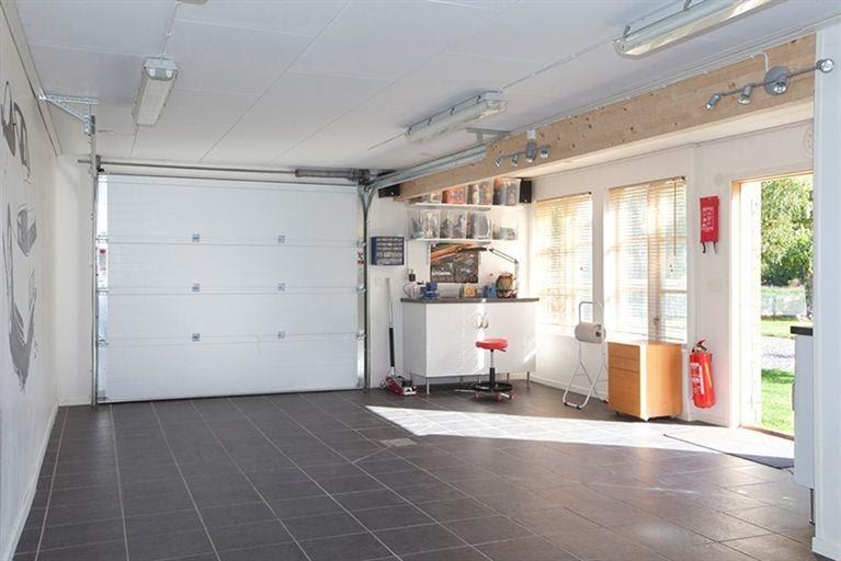 Familjen bj rcks husblogg familjen bj rcks garageblogg - Klinker fliesen garage ...