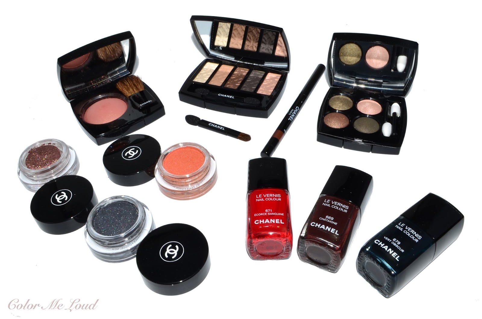 Automnales les chanel fall makeup collection recommend to wear in spring in 2019