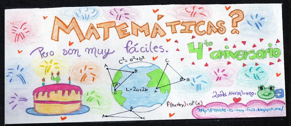 Matemáticas?... Pero son muy fáciles