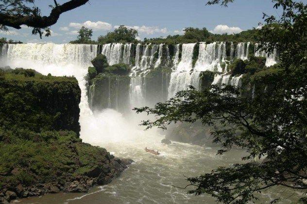 Waterfall that has the most water Inga Waterfall  Congo