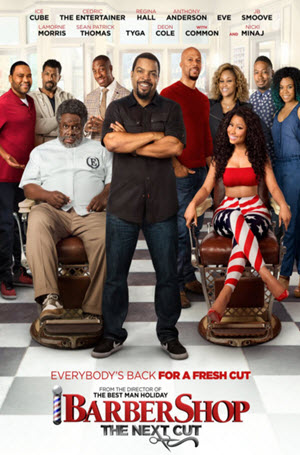 Barbershop: The Next Cut: Official Release Poster