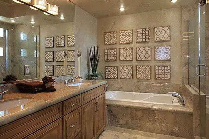 Lavish Bathroom Furniture Nicolas Cages Former House