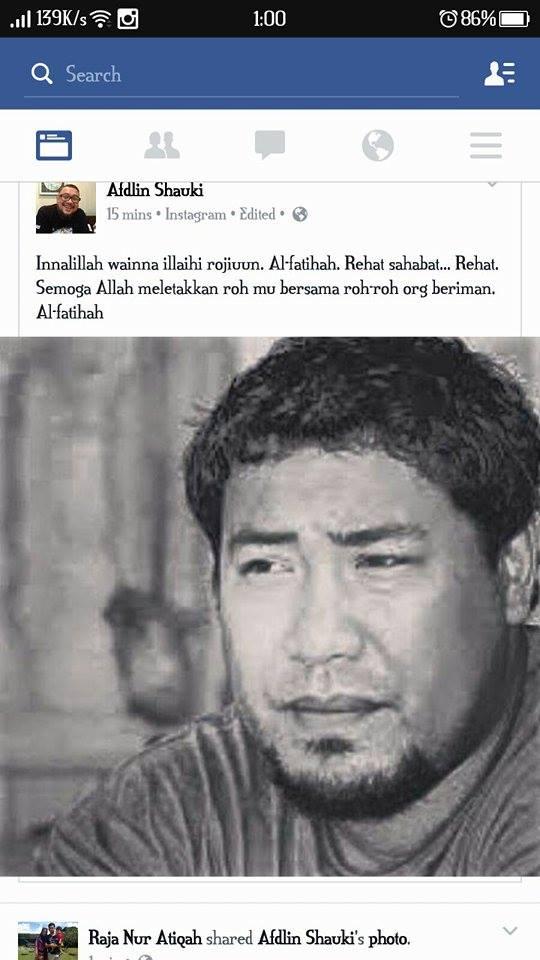Yus Jambu telah meninggal dunia