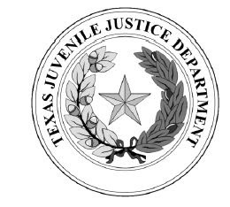 Seal of the Texas Juvenile Justice Department