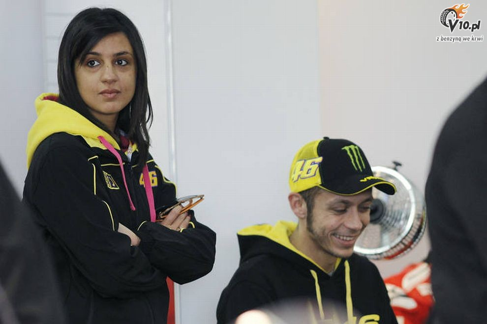 valentino rossi girlfriend marwa klebi 2012 new sports stars. Black Bedroom Furniture Sets. Home Design Ideas
