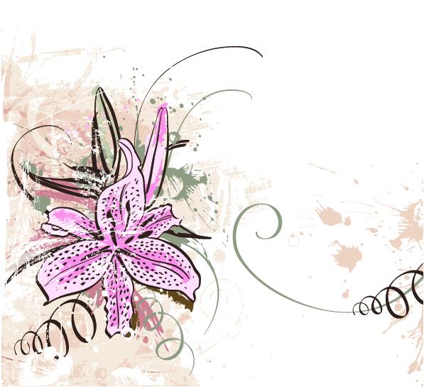 Corak-Corak Kerawang: Floral
