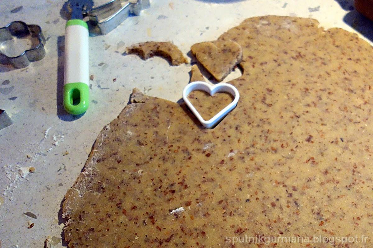 Миндальное печенье-приготовление