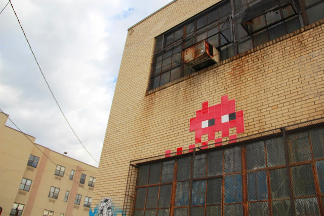 Invader Invades New York City - 2013 Edition - Collaboration With COST and ENX plus solo pieces. 4