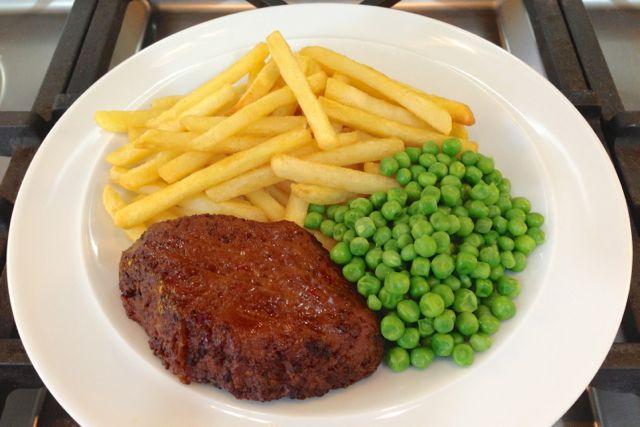 vegan steak-frites