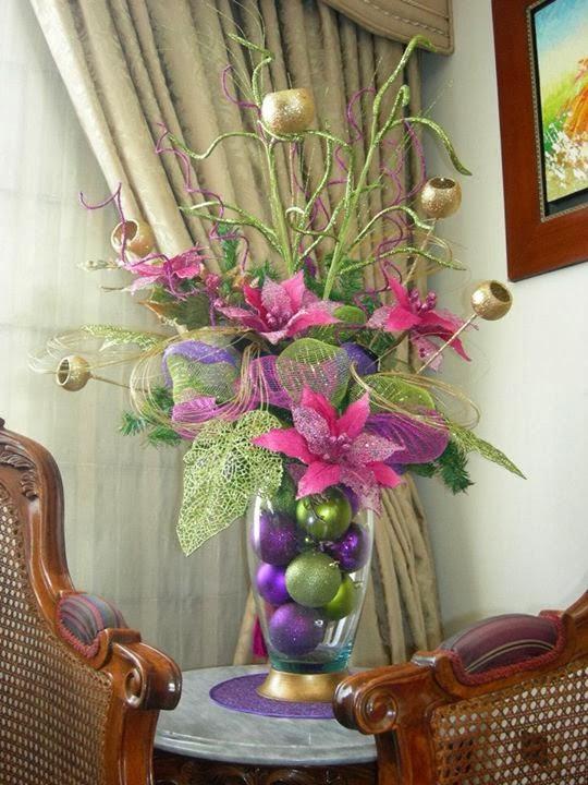 Imagenes de decoracion de navidad - Decoracion adornos navidenos ...