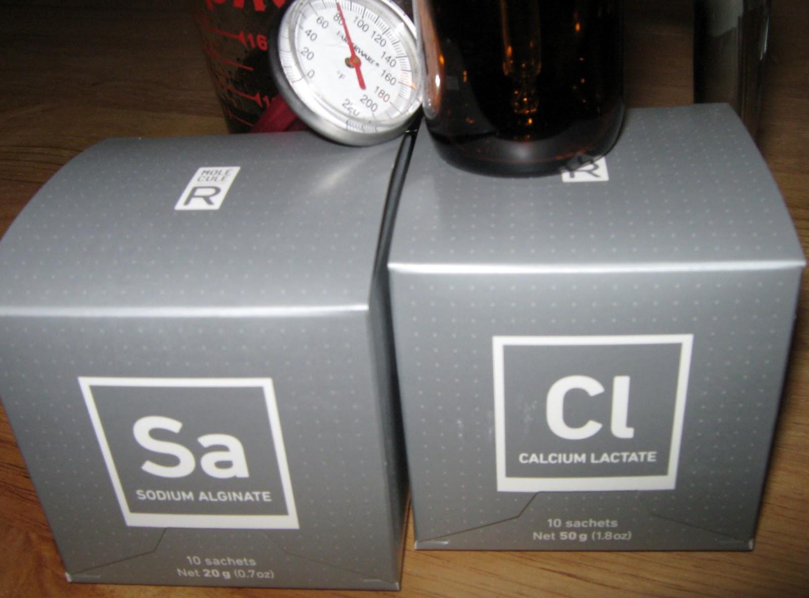 how to make caviar with sodium alginate