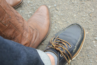 Oak Street Bootmakers Navy Trail Oxford