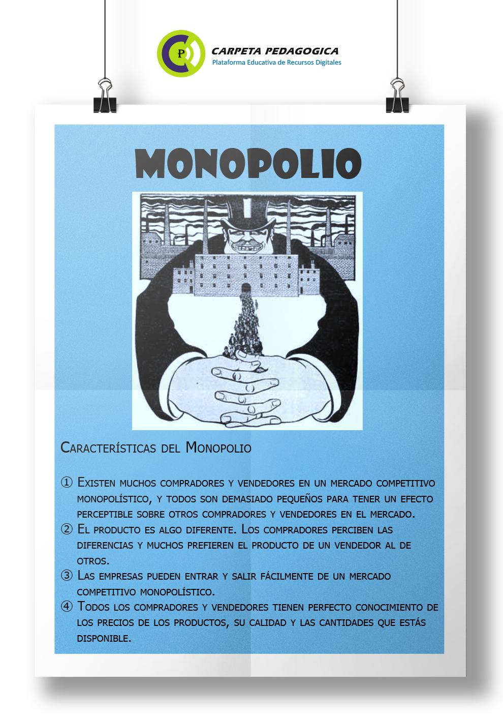 Características del Monopolio