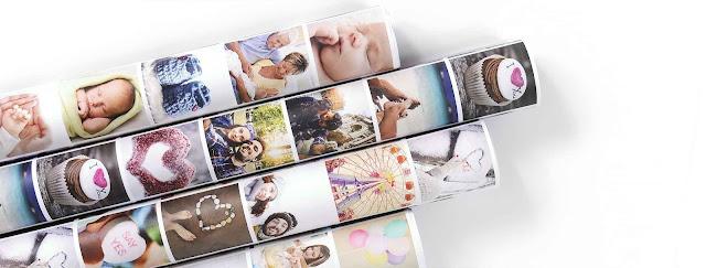 Papel de regalo con fotografías