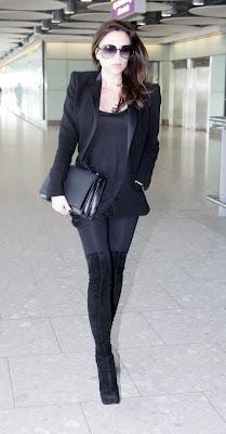 Victoria Beckham Airport Candids