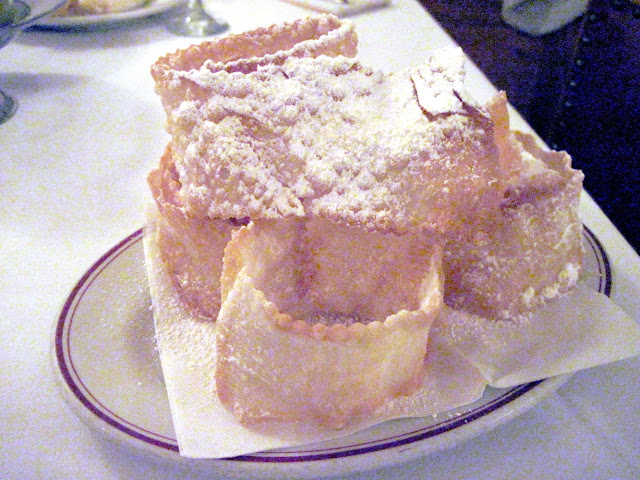 The dessert course was delicious for anyone dining in New York at Marchi's Restaurant