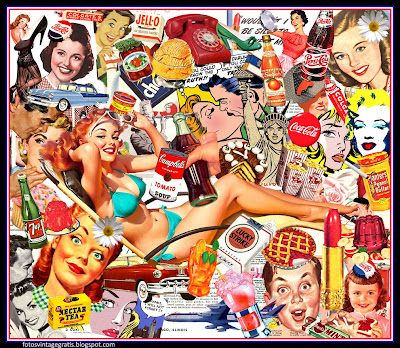 collage pop art