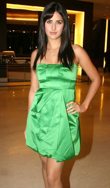 Katrina Kaif In Green Dress