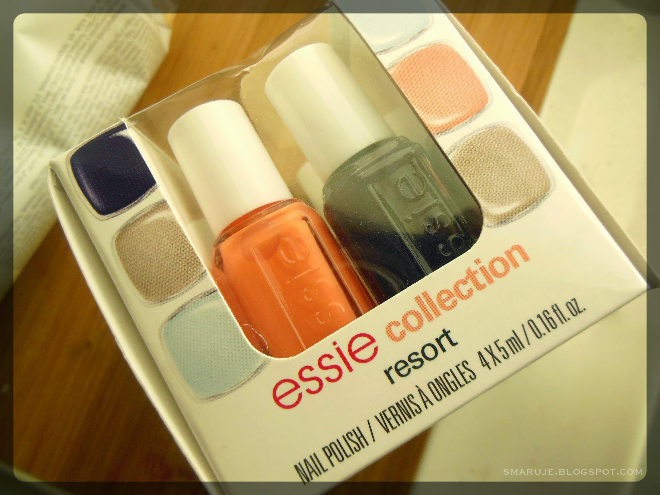 Essie – kolekcja Resort Fling 2014 + swatche Find Me An Oasis / Cocktails & Coconuts