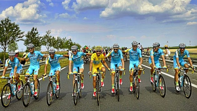 CICLISMO - Astana perdería licencia del World Tour