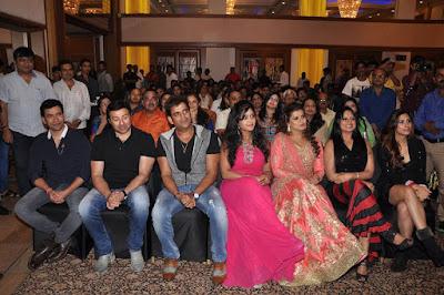Sunny Deol, Ravi Kishan, Dinesh Lal Yadav 'Nirahua' Subhi Sharma, Madhu Sharma