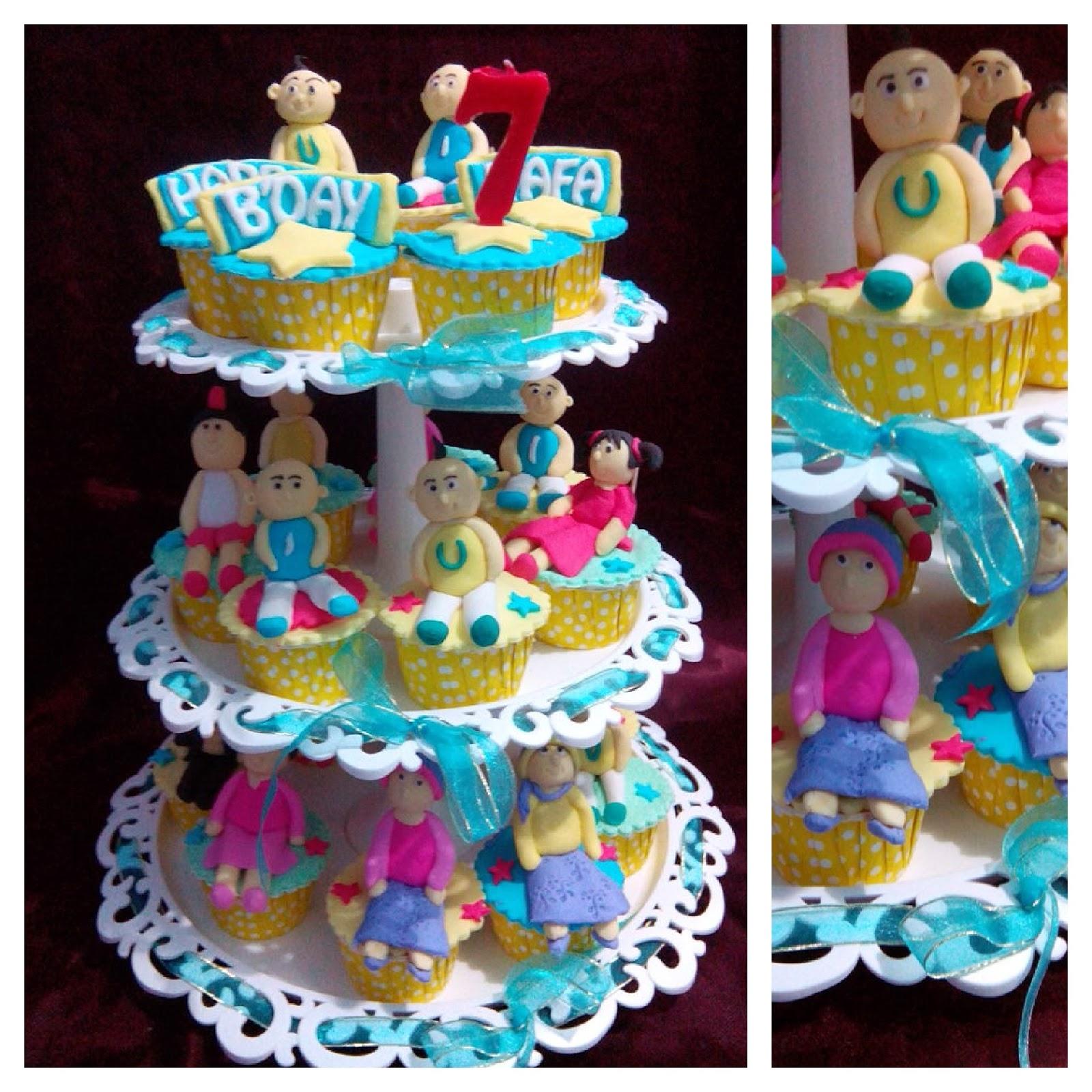 Kue ulang tahun Upin Ipin Biyan Cake