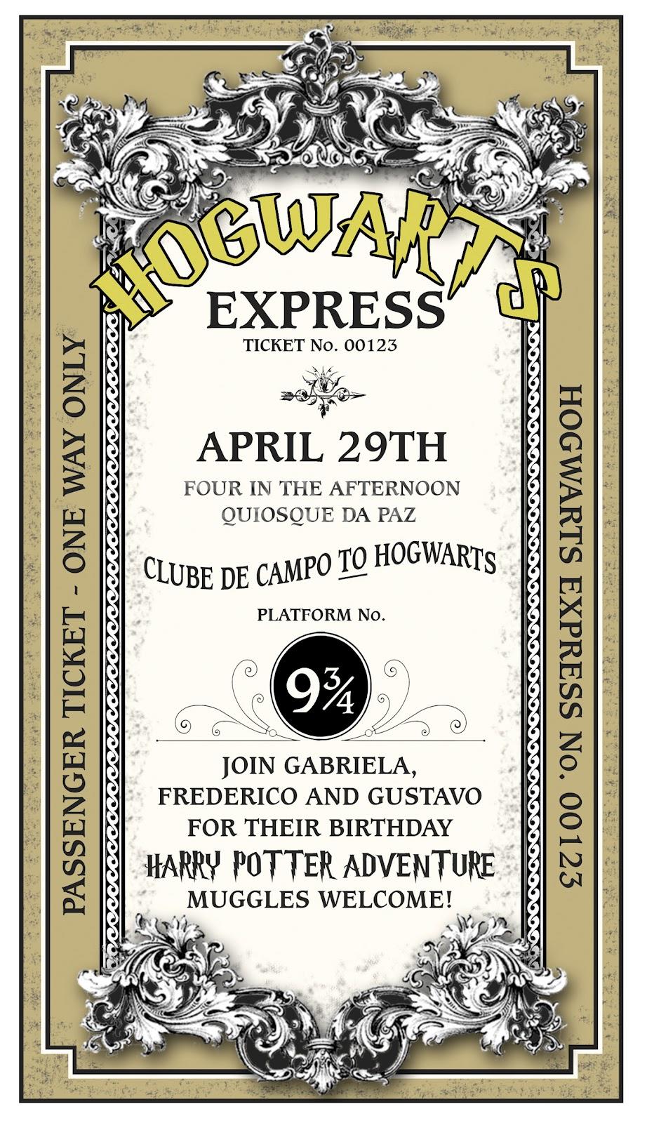 Tema de festa: Harry Potter! : ᐅ Mil dicas de mãe