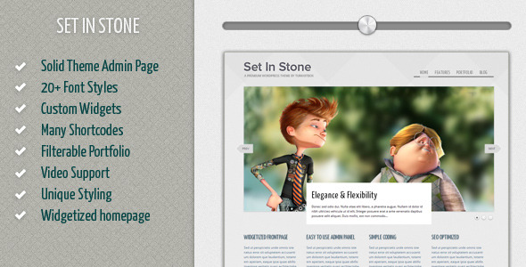 Set in Stone WordPress Theme Free Download by ThemeForest.