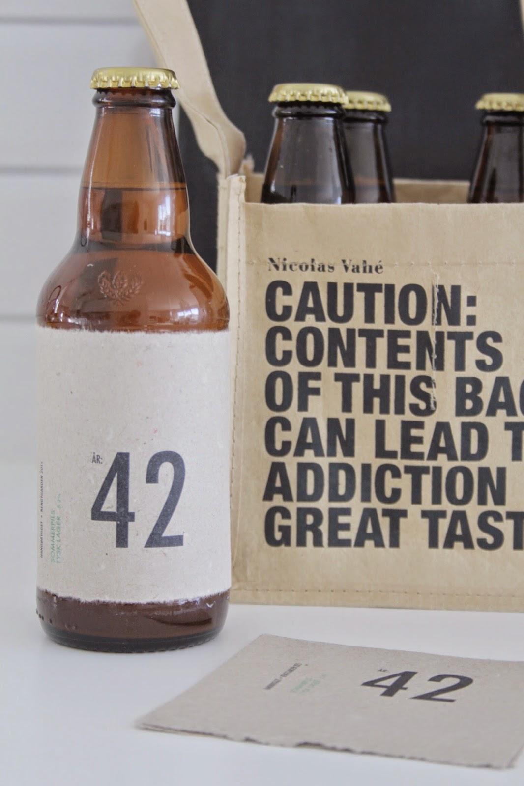 Lage etiketter til flasker selv