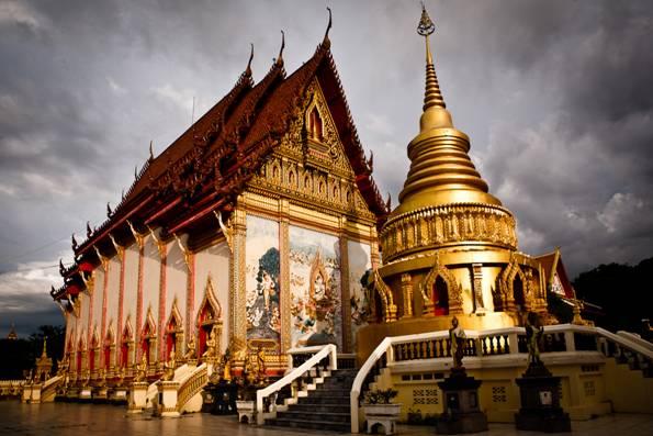 Glorious Buddhist Temples of Luang Prabang, Laos