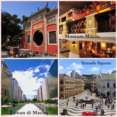 Wisata sejarah di Macau