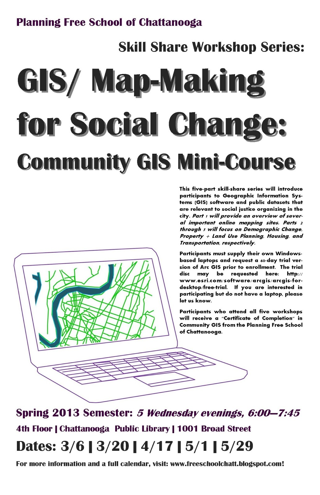 Pfs Gis Mapmaking Mini Course Starts This Evening At 6pm