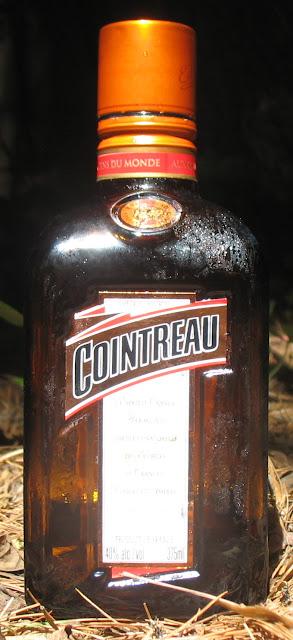 Cointreau triple sec bottle